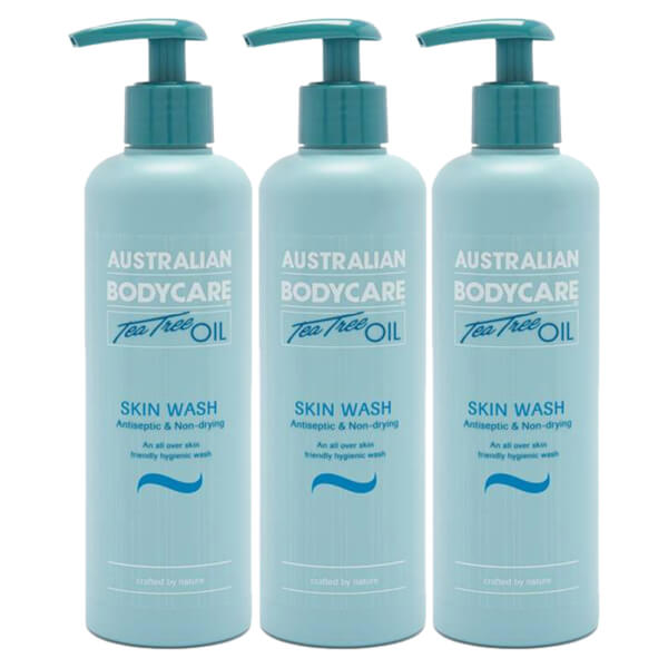 Australian Bodycare Skin Wash Bumper Pack 500ml (Worth £77.97)