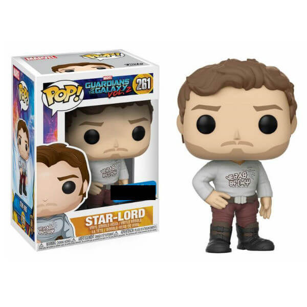 Marvel Guardians of the Galaxy 2 Star-Lord with Gear Shift Shirt EXC Pop! Vinyl Figure