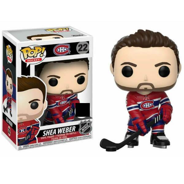 NHL Shea Weber Home Jersey EXC Pop! Vinyl Figure