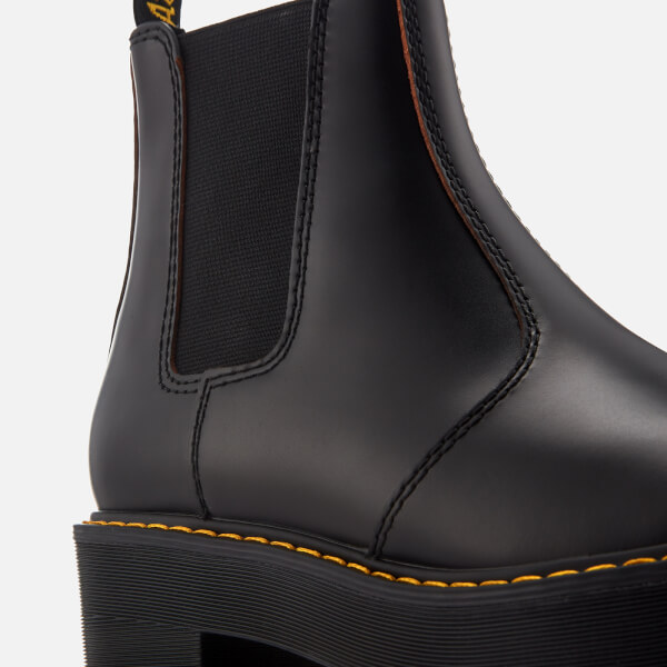 df52dc78b25 Dr. Martens Women's Rometty Vintage Smooth Leather Heeled Chelsea Boots -  Black: Image 4