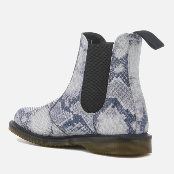 Dr. Martens Women's Flora Snake Print Chelsea Boots - Light - UK 3 Yr9IPyT