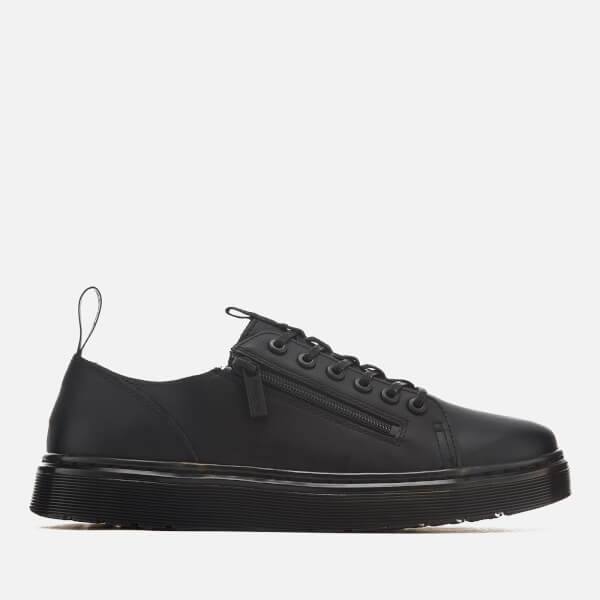 Dr. Martens Men's Dante Zip Softy T Leather 6-Eye Shoes - - UK 9 3rvE0