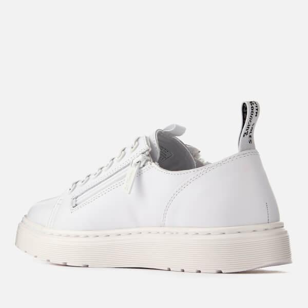 Dr. Martens Men's Dante Zip Softy T Leather 6-Eye Shoes - - UK 9 UviG0