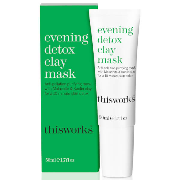 this works Evening Detox Clay Mask 50ml