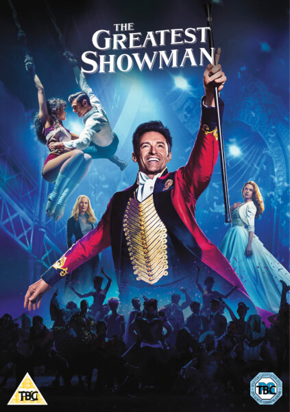 The Greatest Showman Dvd Zavvi