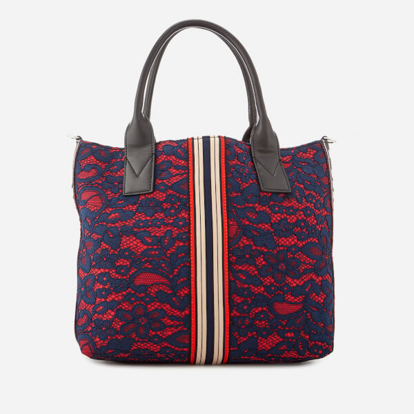 Pinko Women s Boccanera Shopping Tote Bag - Rosa Blue  Image 2 d2874c139f4