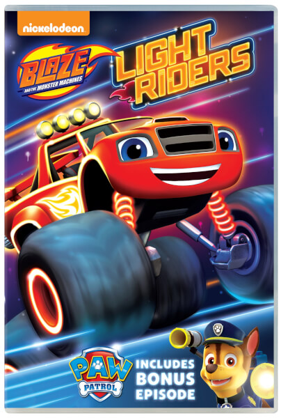 Monster Trucks For Sale >> Blaze and the Monster Machines: Light Riders! DVD | Zavvi