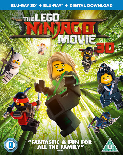 The Lego Ninjago Movie 3d Includes 2d Version Blu Ray