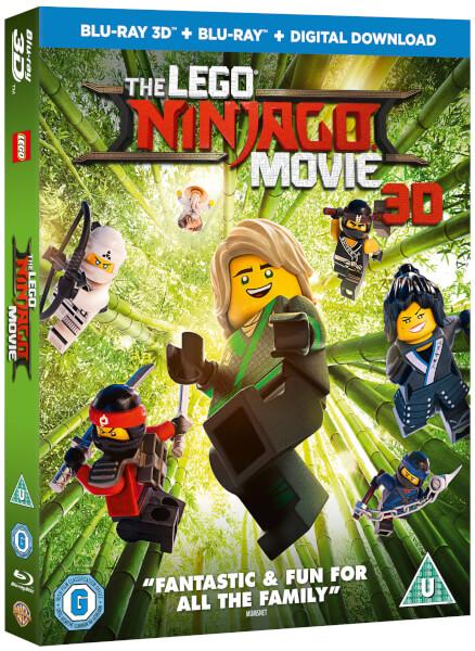 The Lego Ninjago Movie 3d Includes 2d Version Blu Ray