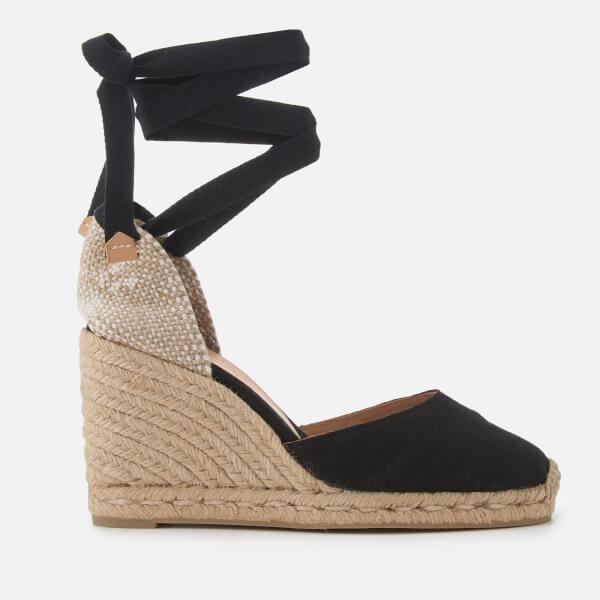 Castañer Women's Carina Wedged Sandals - Negro