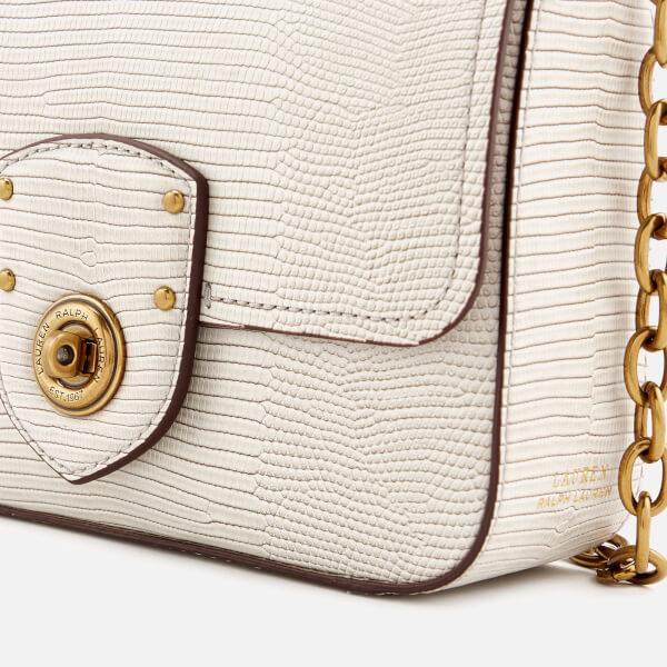 0f360b83aa Lauren Ralph Lauren Women s Millbrook Chain Cross Body Bag - Grey  Image 4