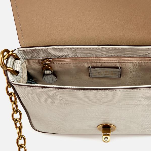 039eb80135 Lauren Ralph Lauren Women s Millbrook Chain Cross Body Bag - Grey  Image 5