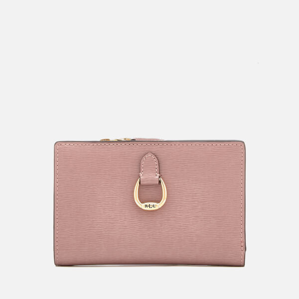 Lauren Ralph Lauren Women's Bennington New Compact Purse - Rose Smoke