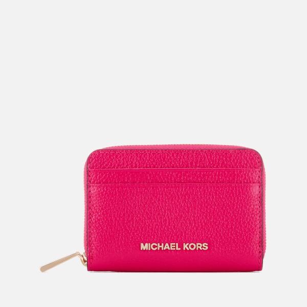 MICHAEL MICHAEL KORS Women's Zip Around Card Case - Ultra Pink