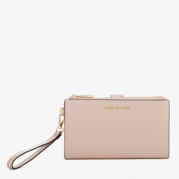 MICHAEL MICHAEL KORS Women's Double Zip Wristlet - Soft Pink
