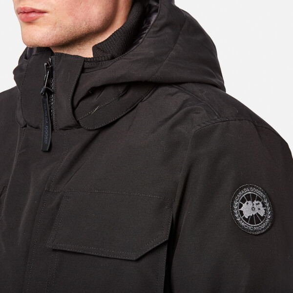 Canada Goose Men's Black Label Maitland Parka - Black: Image 5