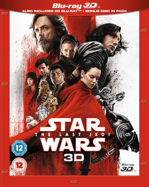 Star Wars The Last Jedi 3d Includes 2d Version Blu Ray
