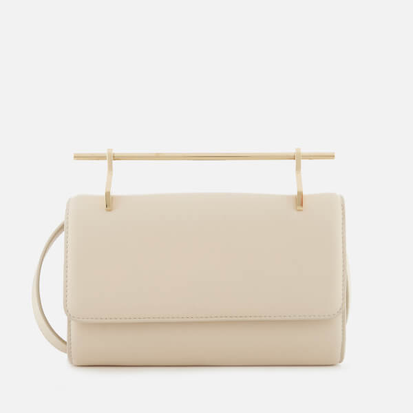 M2Malletier Women's Fabricca Single Hardware Small Cross Body Bag - Ivory/Single Gold