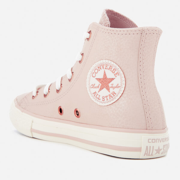 Converse Kids  Chuck Taylor All Star Hi-Top Trainers - Particle Beige Egret f557888b0