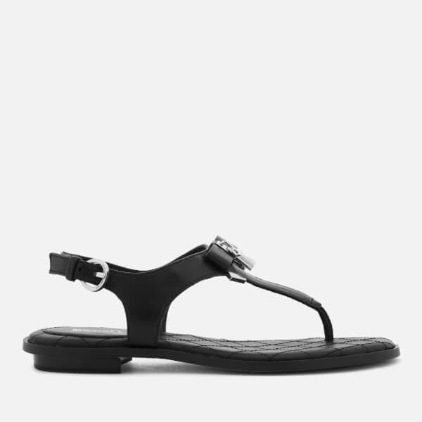 MICHAEL MICHAEL KORS Women's Alice Toe Post Sandals - Black