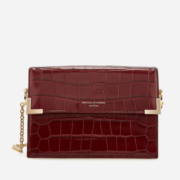 Aspinal of London Women's Chelsea Bag - Bordeaux