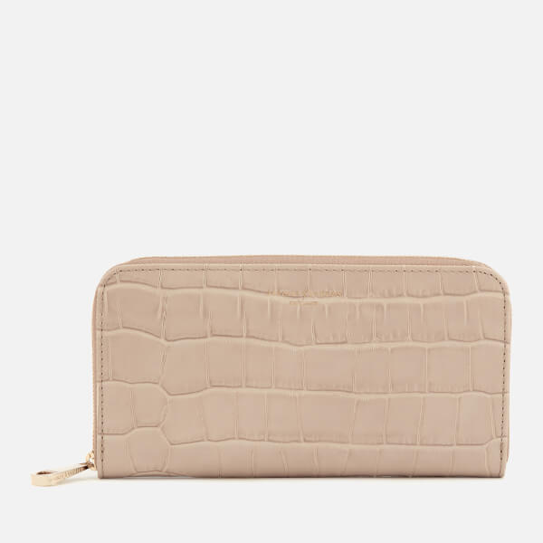 Aspinal of London Women's Continental Clutch Wallet - Soft Taupe