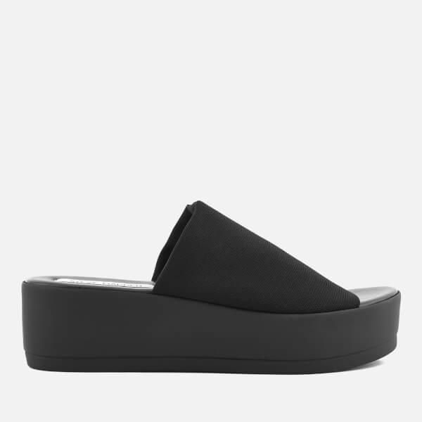Steve Madden Women's Slinky Flatform Sandals - Black