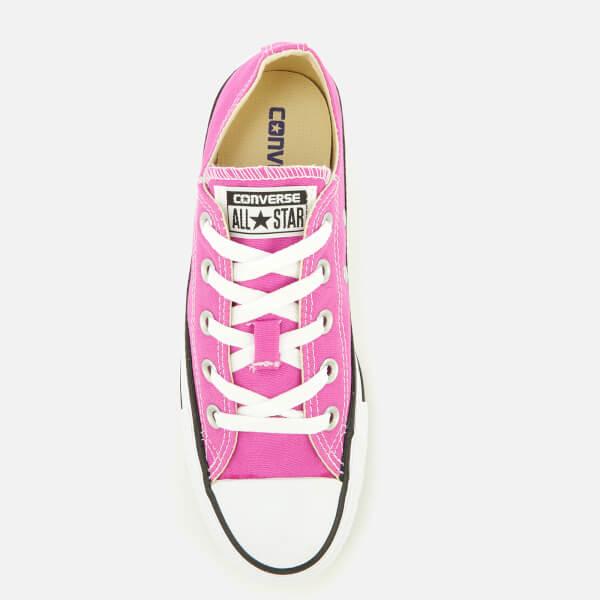 magenta converse sneakers