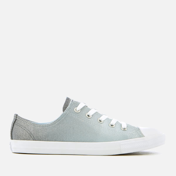 Converse Women's Chuck Taylor All Star Dainty Ox Trainers - Blue Tint/Light  Carbon: