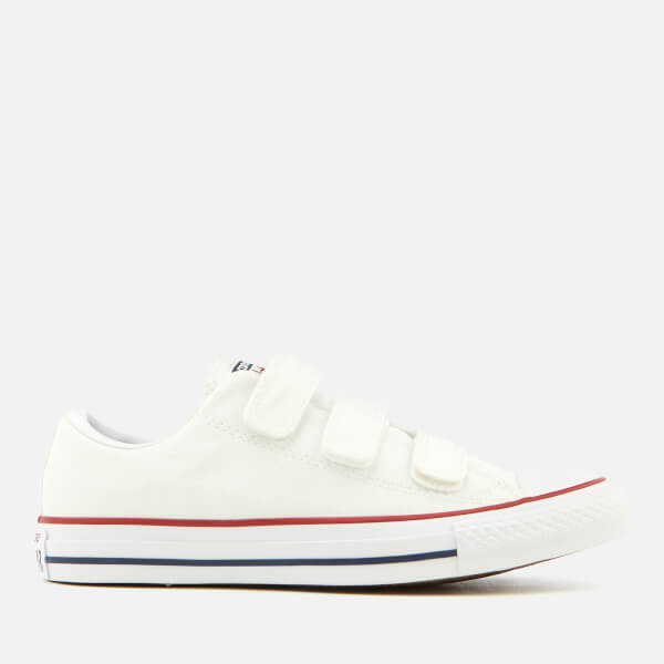 Converse Chuck Taylor All Star 3V Ox Trainers - White/Insignia Blue/Garnet