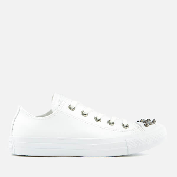 Converse Women\u0027s Chuck Taylor All Star Ox Trainers - White: Image 1