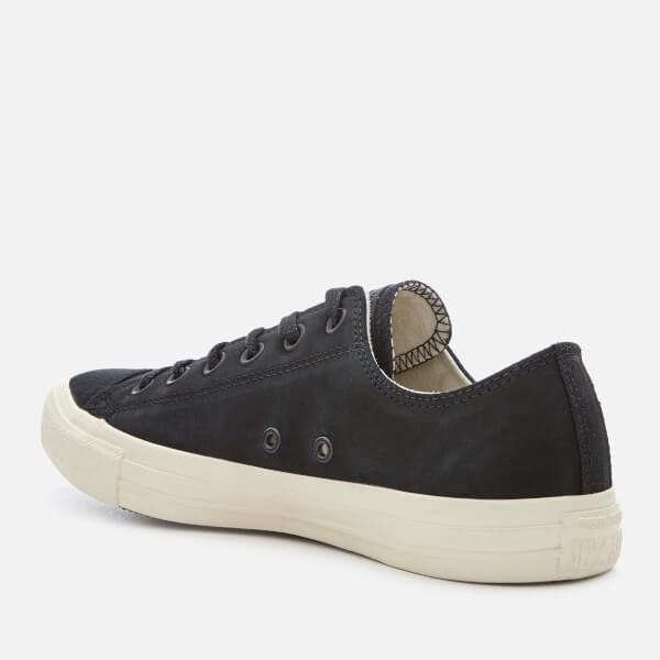 3124e2373bd6 Converse Men s Chuck Taylor All Star Ox Trainers - Black Driftwood  Image 2