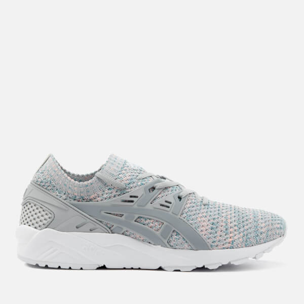 Asics Lifestyle Men's Gel-Kayano Knit Trainers - Glacier Grey/Mid Grey