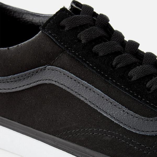 vans old skool mono black