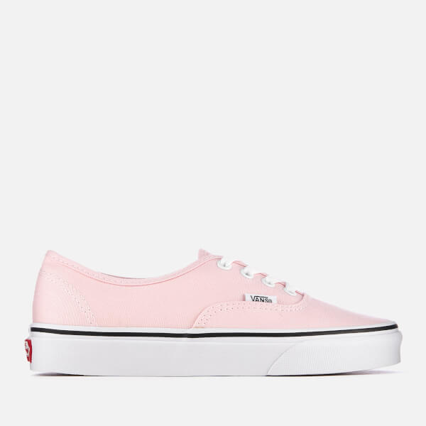 e52e7a2a38 Vans Women s Authentic Trainers - Chalk Pink True White  Image 1