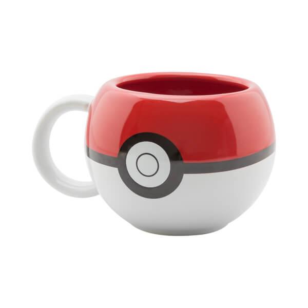 Pokémon Pokéball 3D Mug
