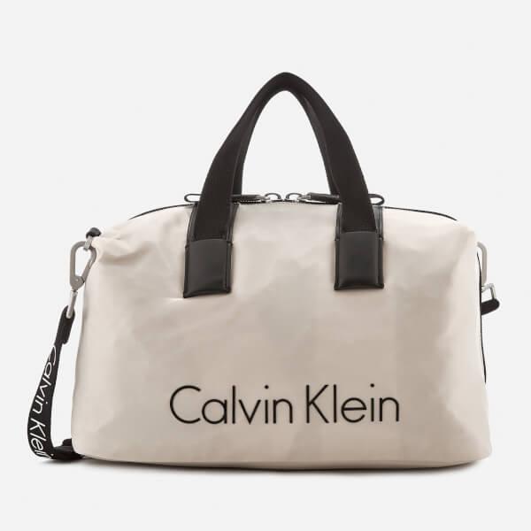 Calvin Klein Women's City Nylon Duffle Bag - Cement