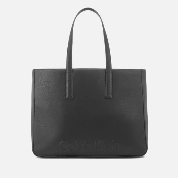 Calvin Klein Women's Edge Large Shopper Bag - Black