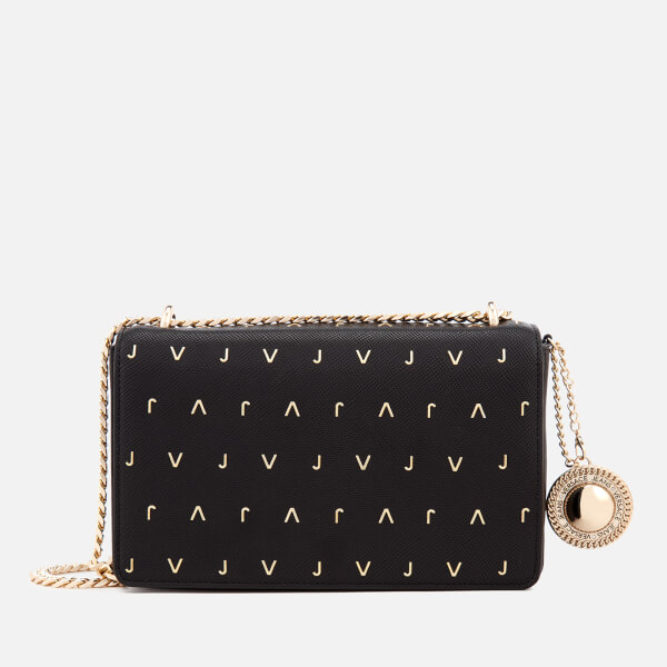 Versace Jeans Women S Embellished Shoulder Bag Black Image 1