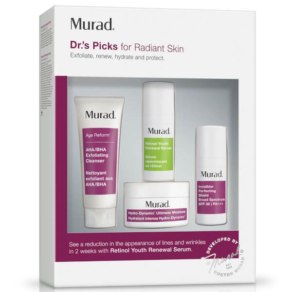 Murad Doctor's Picks for Radiant Skin (Worth $78)