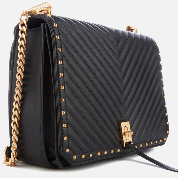 69a34cb40c Rebecca Minkoff Women s Medium Becky Shoulder Bag - Black  Image 4