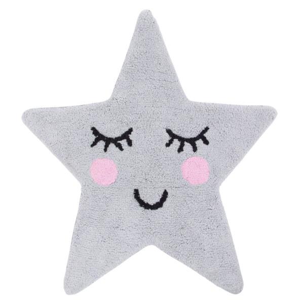 Sass & Belle Sweet Dreams Grey Star Rug