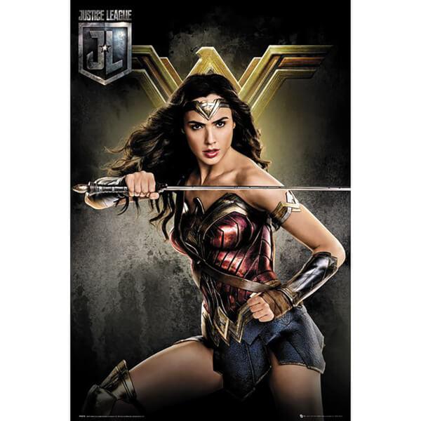 Justice League Wonder Woman Maxi Poster 61 x 91.5cm