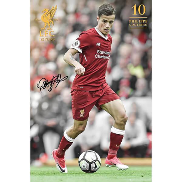 Liverpool Coutinho 17/18 Maxi Poster 61 x 91.5cm