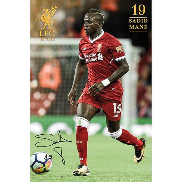 Liverpool Mane 17/18 Maxi Poster 61 x 91.5cm