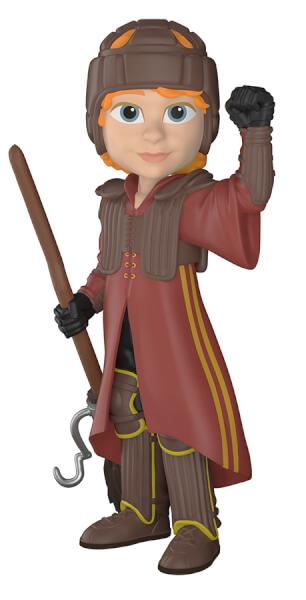 Harry Potter Ron in Quidditch Uniform Rock Candy Vinyl Figure