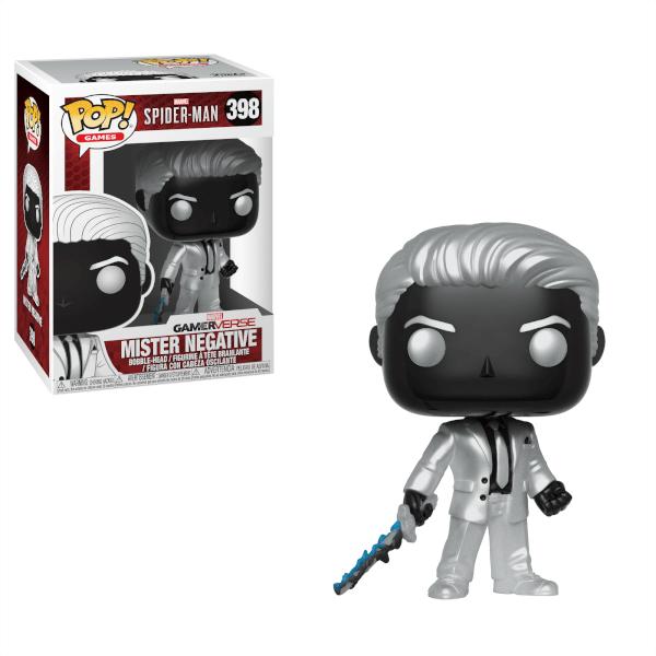 Figurine Pop Mister Negative Spider Man Gamerverse