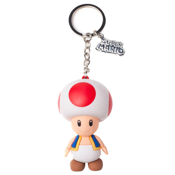 Toad - 3D Rubber Keychain