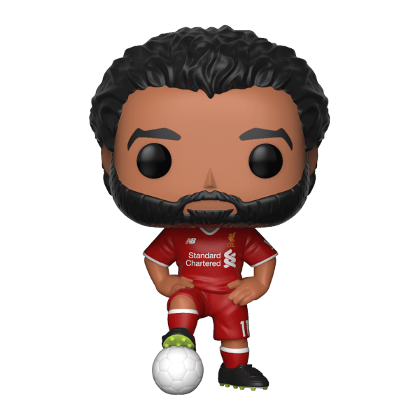 Liverpool Fc Mohamed Salah Pop Vinyl Figure Pop In A Box Uk