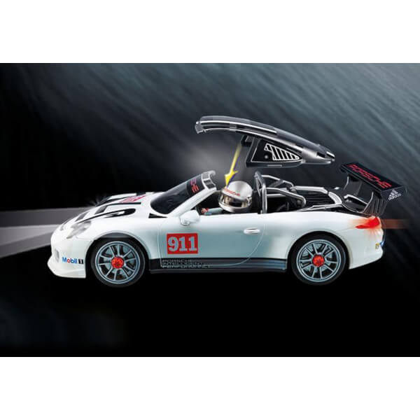 playmobil porsche 911 gt3 cup with racing command station 9225 iwoot. Black Bedroom Furniture Sets. Home Design Ideas
